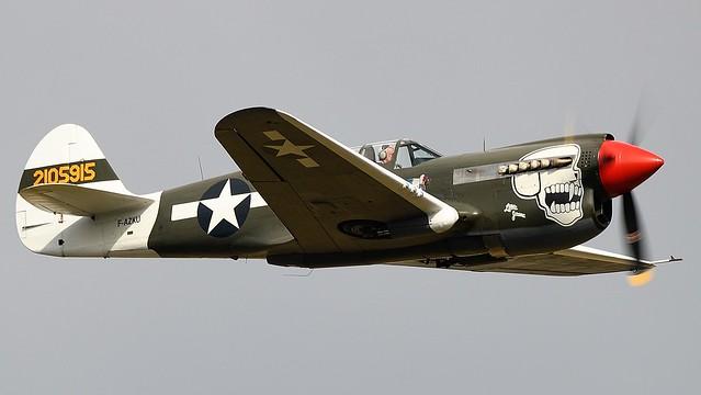 Curtiss P-40N Kittyhawk F-AZKU 42-105915 USAAF Little Jeanne