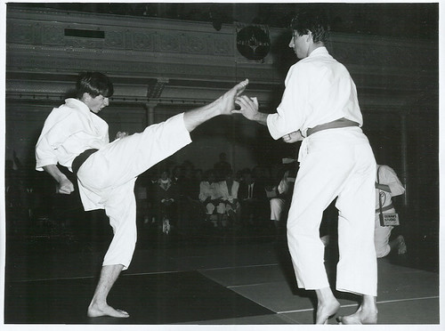 <p>Title:<br /> Sports - Karate<br /> <br /> Publicity Caption:<br /> New Zealand Karate Champs at Town Hall, Wellington<br /> <br /> Photographer:<br /> Mr Nicholson <br />  <br /> May 1969, Wellington <br /> <br /> Archives New Zealand Reference: AAQT 6539 W3537  93 /   A90129</p>