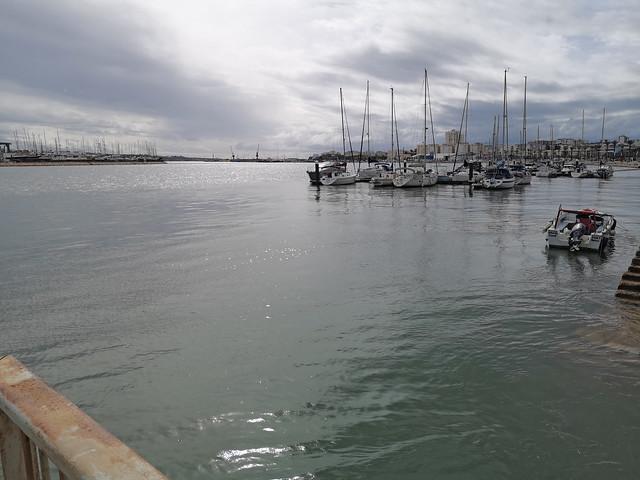 Marina o Puerto de Portimao Rio Arade Algarve Portugal