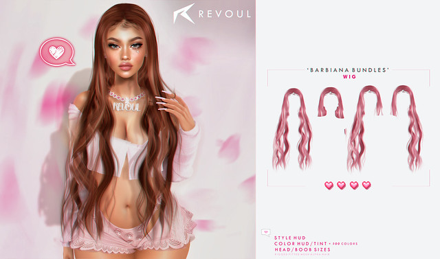 REVOUL Barbiana Bundles Access Giveaway! ♥