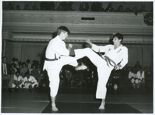 <p>Title:<br /> Sports - Karate<br /> <br /> Publicity Caption:<br /> New Zealand Karate Champs at Town Hall, Wellington<br /> <br /> Photographer:<br /> Mr Nicholson <br /> <br /> May 1969, Wellington <br /> <br /> Archives New Zealand Reference: AAQT 6539 W3537  93 /   A90132</p>