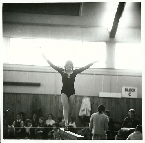 <p>Title: <br /> Sports - Gymnastics<br /> <br /> Publicity Caption:<br /> The New Zealand National Gymnastics Championships at the Lower Hutt Town Hall<br /> <br /> Photographer:<br /> W. Cleal <br /> <br />  <br /> August 1971, Wellington Province <br /> <br /> Archives New Zealand Reference: AAQT 6539 W3537  1 /   R5021</p>