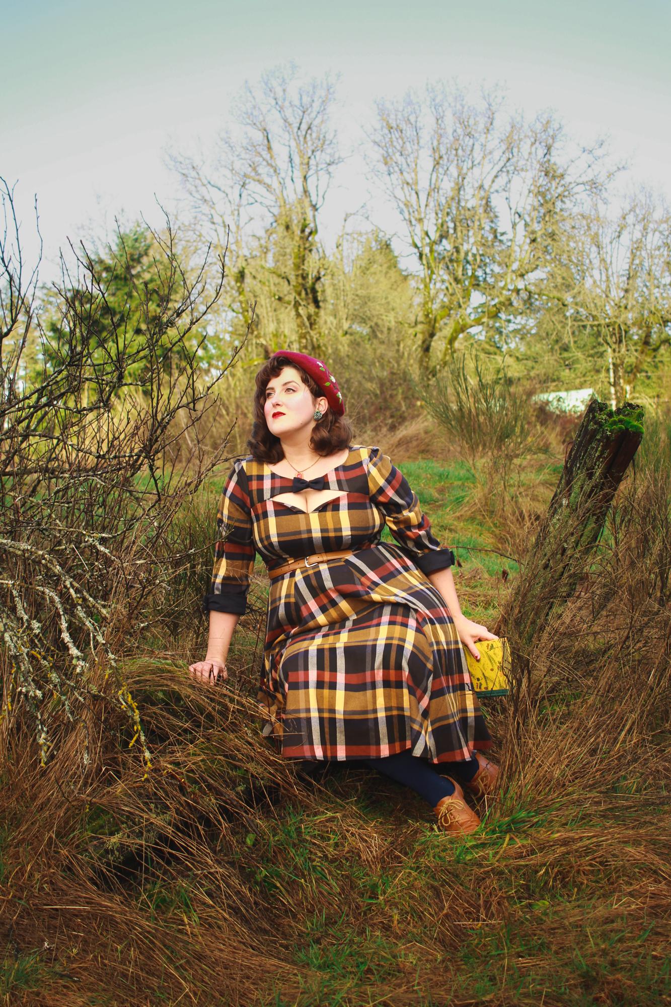 Miss Candyfloss Tartan Dress