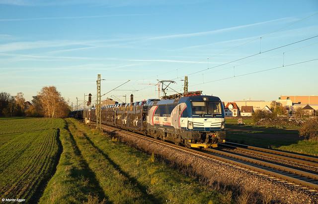 ZSSK Cargo bei Graben-Neudorf