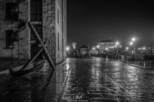 Liverpool in the rain