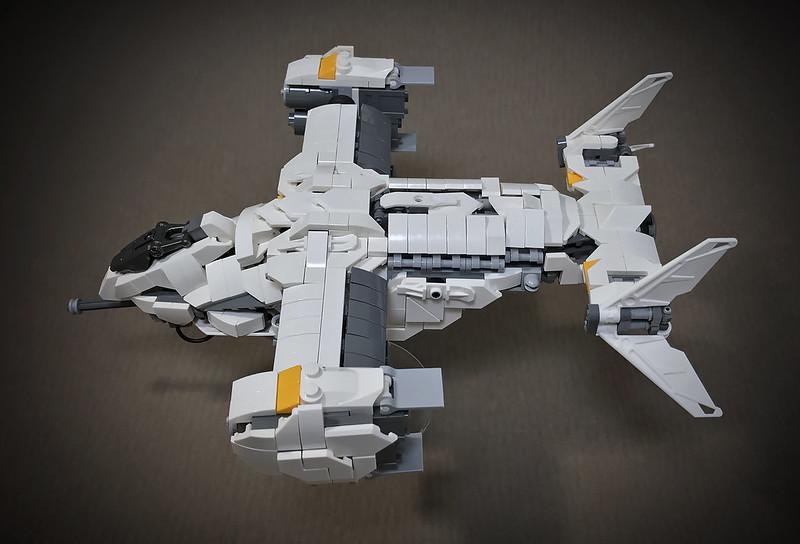 LEGO VTOL Transport Aircraft_14