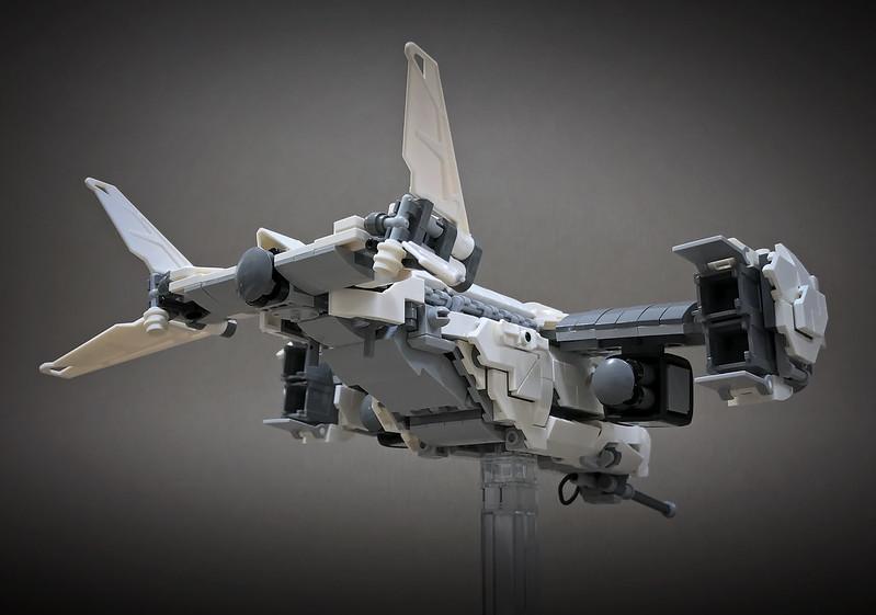 LEGO VTOL Transport Aircraft_04