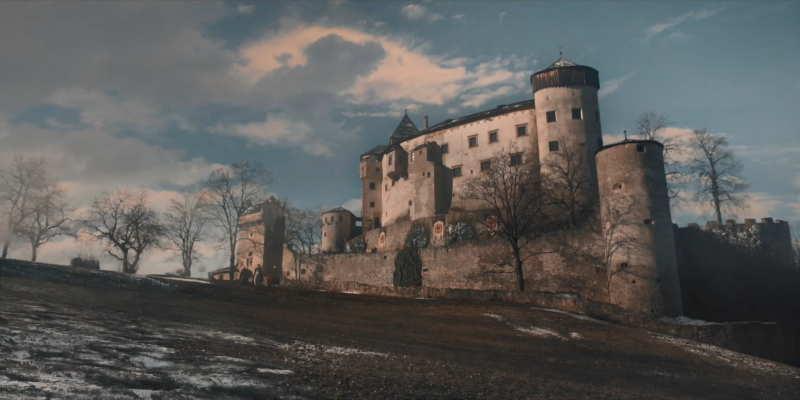 The castle in Bohemia