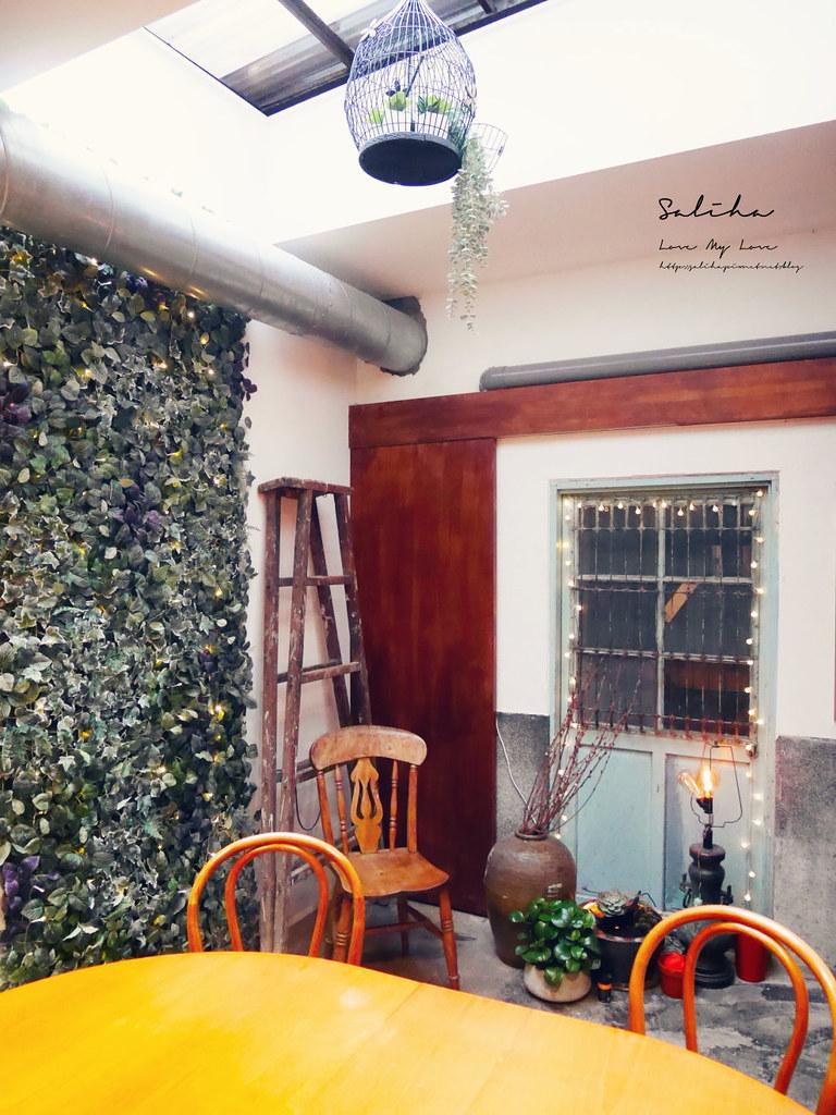 台北文青咖啡廳月霞咖啡赤峰街早午餐推薦下午茶聊天看書蛋糕甜點 (3)