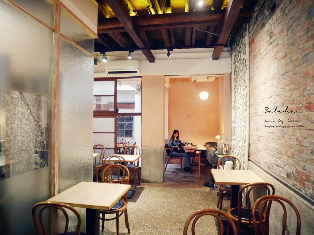 台北文青咖啡廳月霞咖啡赤峰街早午餐推薦下午茶聊天看書蛋糕甜點 (1)