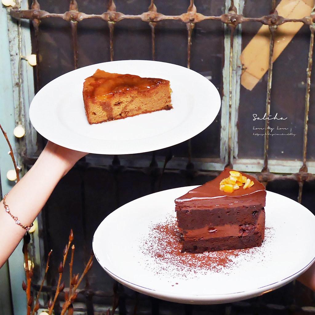 台北中山站甜點下午茶月霞咖啡赤峰街甜點下午茶推薦好吃蛋糕早午餐 (4)