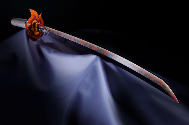 PROPLICA《鬼滅之刃》第二彈「日輪刀(煉獄杏壽郎)」完整情報公開 兩種模式再現無限列車篇場景!