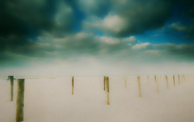 North Sea winter day.