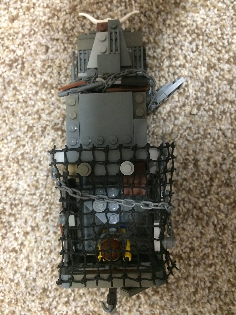 Post-Apocalyptic 3-Ton Truck Top View