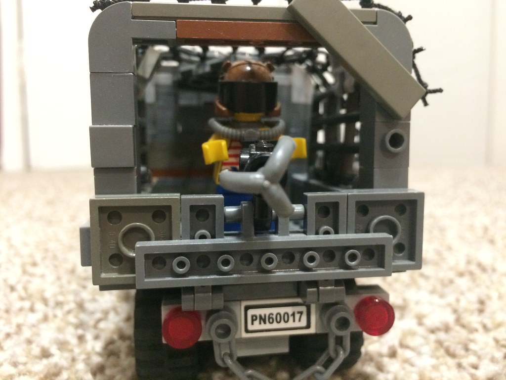 Post-Apocalyptic 3-Ton Truck