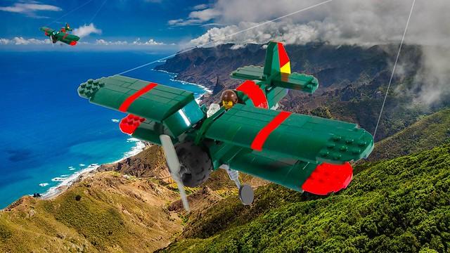 (2) I-15s on patrol over Spain