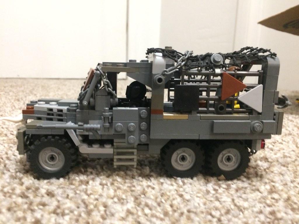 Post-Apocalyptic 3-Ton Truck Left Side