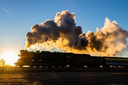 284 owosso pm1225 peremarquette steamrailroadinginstitute michigan unitedstates