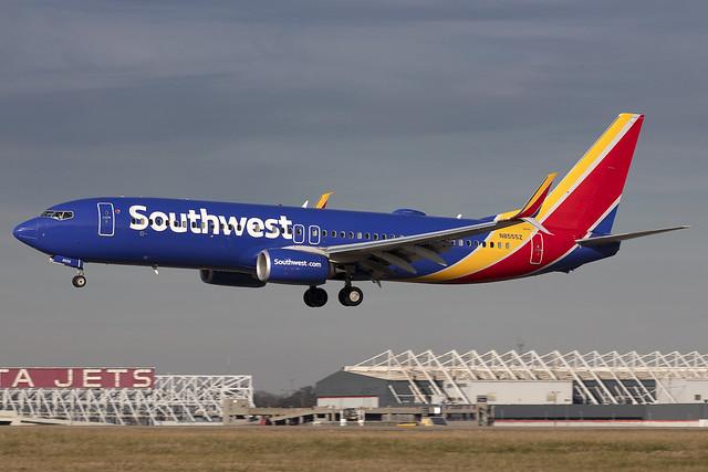 N8555Z - Boeing 737-8H4(WL) - Southwest - KATL - Jan 2021