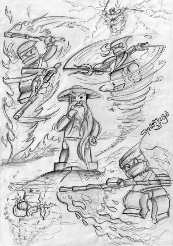 1st Spinjitzu drawing_2009