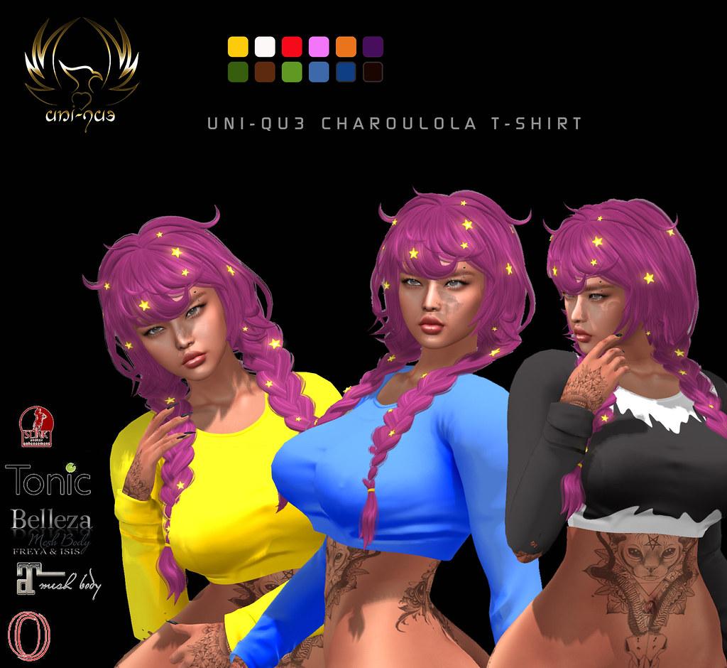 Uni-qu3 Charoula T-shirt