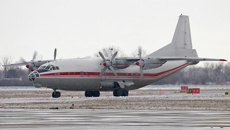 UR-CGW Meridian Antonov An-12BP