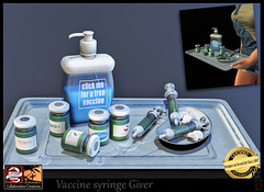 vaccine giver