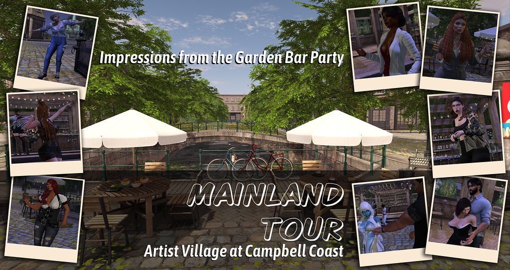 Mainland Tour: Campbell Coast / Sisters In SL Event / Pre-Party at Artist Village