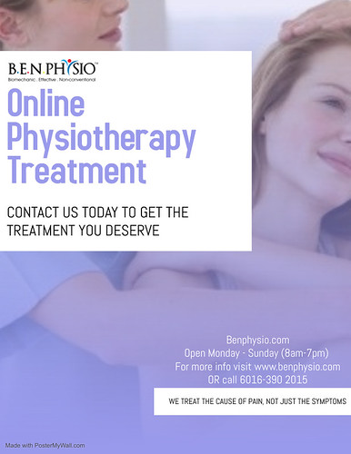 Online Physiotherapy Treatment | by benphysio