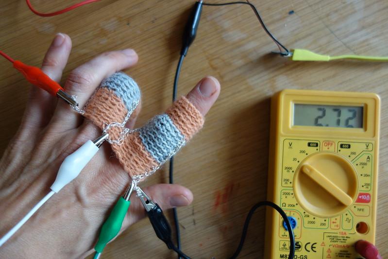 Point of Interest etextile sensor swatch