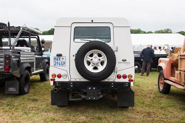 Land-Rover Defender 110 'Taurus' Armoured Car Prototype - 2000