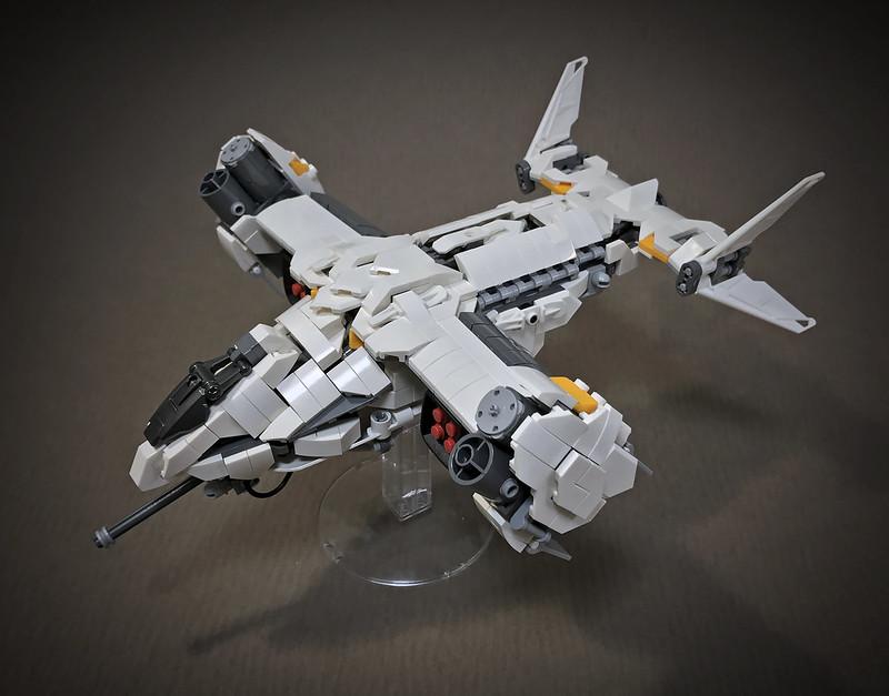 LEGO VTOL Transport Aircraft_13