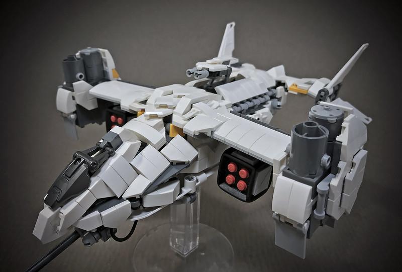 LEGO VTOL Transport Aircraft_12