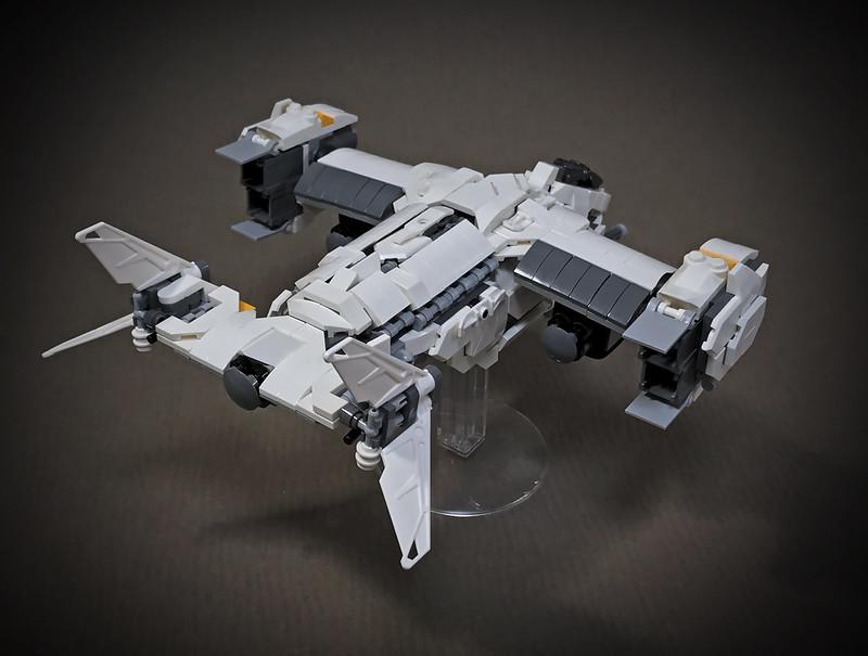 LEGO VTOL Transport Aircraft_09