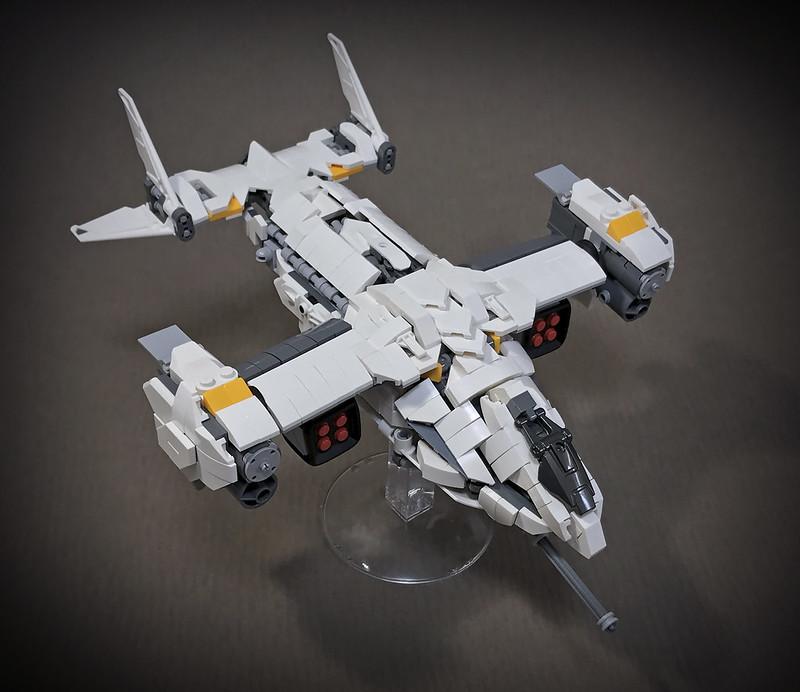 LEGO VTOL Transport Aircraft_07