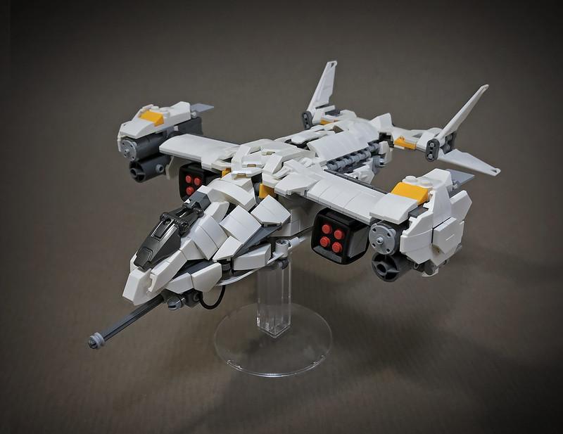 LEGO VTOL Transport Aircraft_01