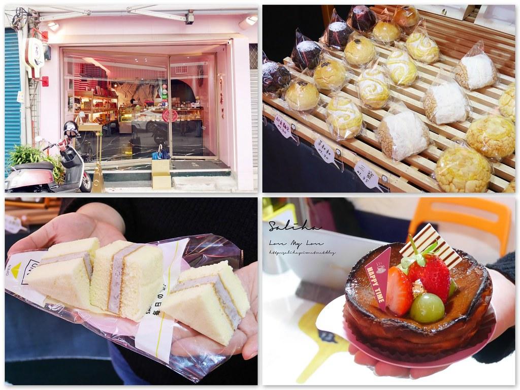 台北赤峰街隱藏版甜點糕餅麵包甜點喜餅9易餅舖芋泥三明治