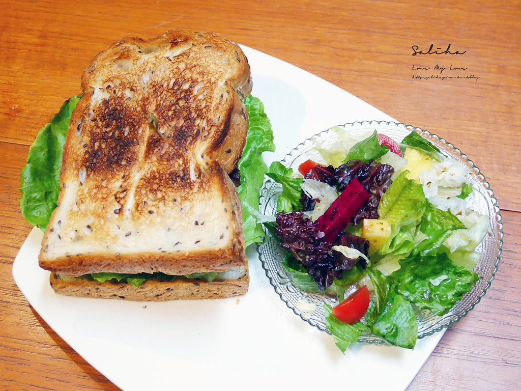 台北月霞Waha Cafe中山站赤峰街早午餐推薦IG咖啡廳好吃甜點蛋糕下午茶老屋咖啡廳 (4)