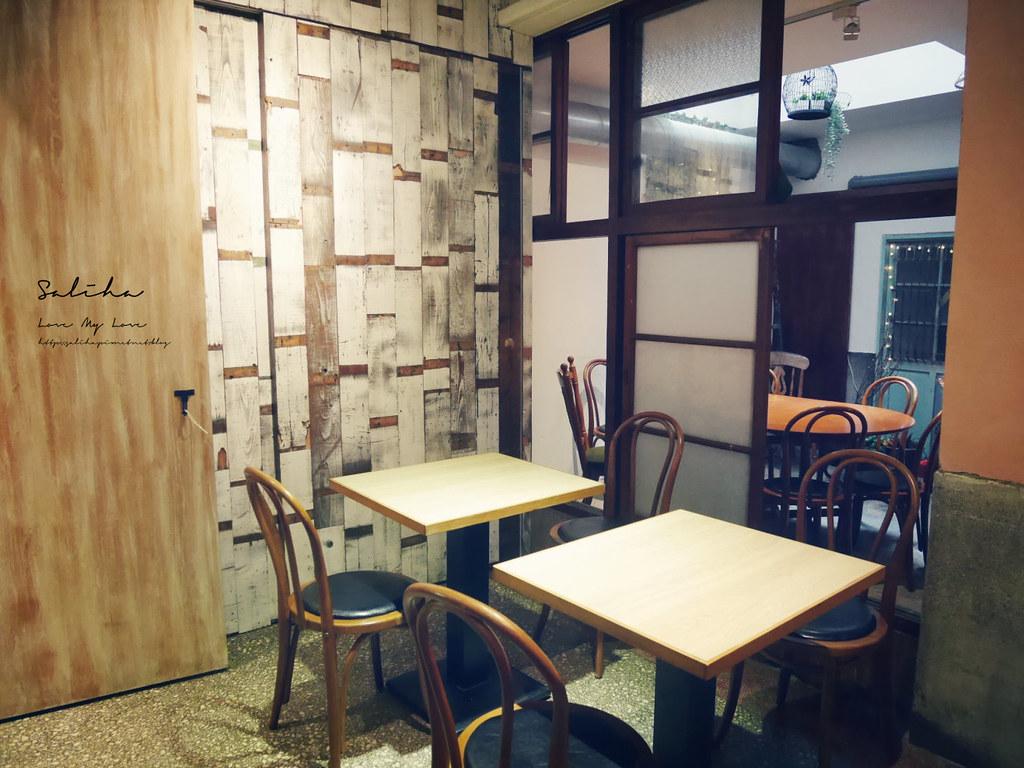 台北文青咖啡廳月霞咖啡赤峰街早午餐推薦下午茶聊天看書蛋糕甜點 (2)