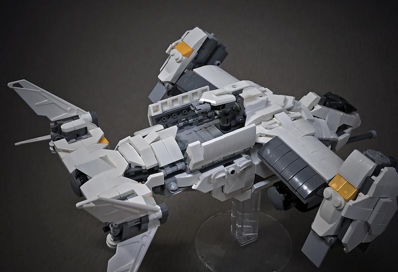 LEGO VTOL Transport Aircraft_10