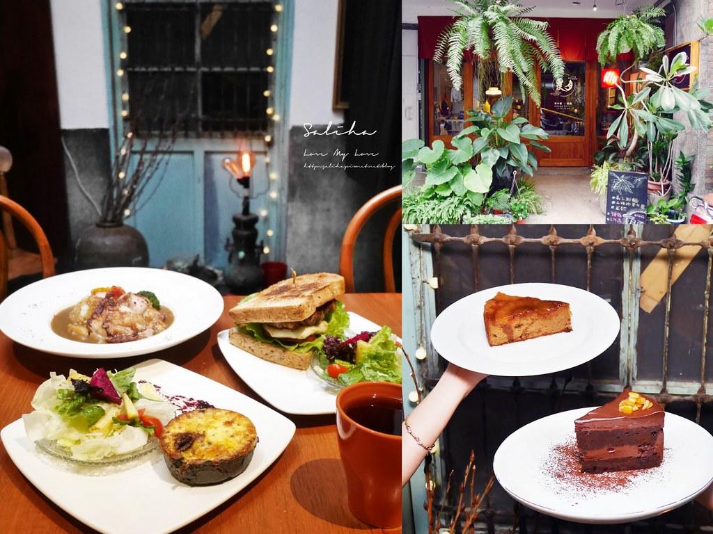 台北中山站一日遊赤峰街美食下午茶蛋糕甜點早午餐月霞咖啡早午餐特色餐廳 (3)