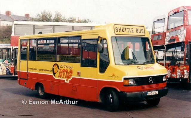 Bus Eireann ME22 (94D37022).