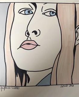 Yevgenia Watts for Julia Kay's Portrait Party