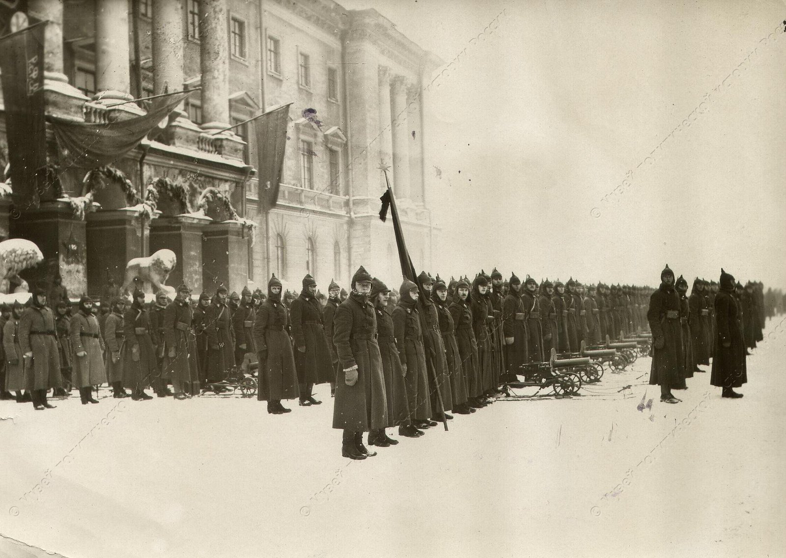 1919-1922. Смотр войск Красной Армии