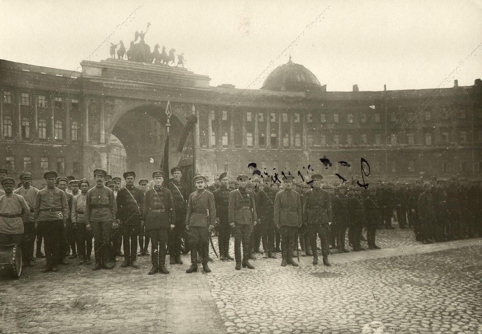1919-1922. Смотр войск Красной Армии на площади Урицкого