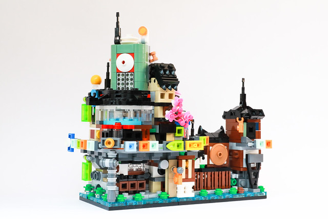 Mini Modulars: NINJAGO City