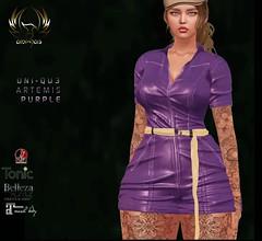 uni-qu3 Artemis purple