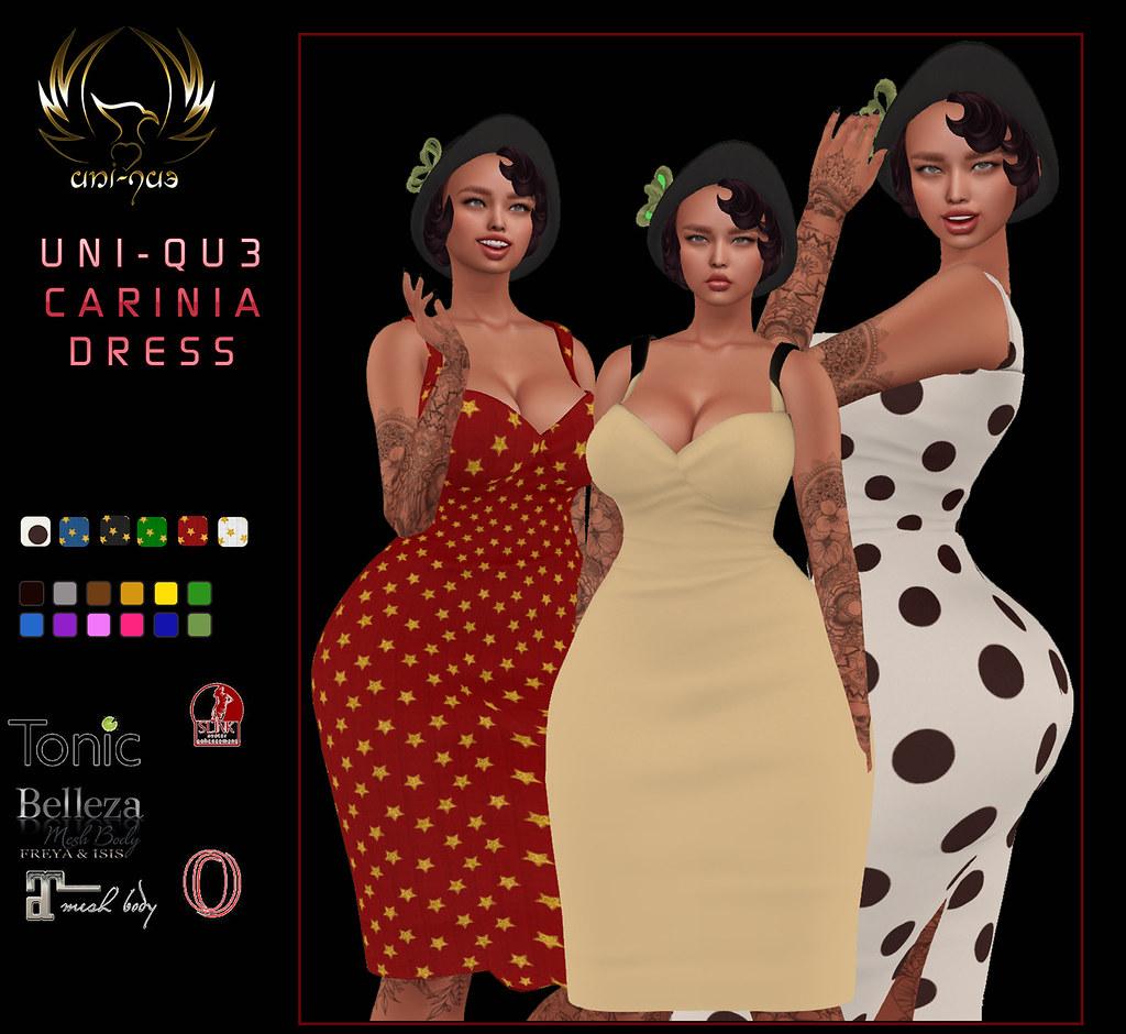 UNI-QU3 CARINIA DRESS a