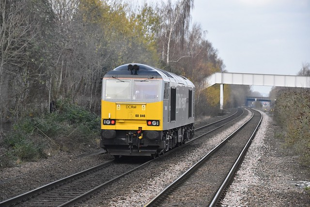 60046 heads north with 0Z63