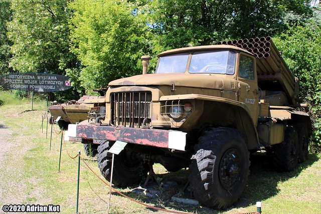 Ural 375D BM-21 Grad